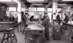Werkstätte Salzburgerstrasse um 1980